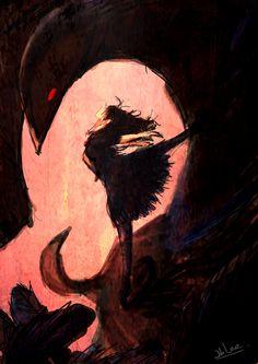 Princess Kraehe (Rue) Daughter of the Demon Raven Princess Tutu Princess Tutu Anime, Princesa Tutu, Gothic Wallpaper, Dark Art Illustrations, Legends And Myths, Ballet Art, Character Art, Character Aesthetic, Dark Photography