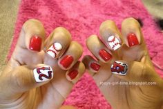 Baseball manicure, only gotta do the Rockies :)