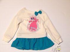 NEW Girls DreamWorks Trolls Poppy Quilted Peplum Shirt Be Happy Pink White Sze 4  | eBay