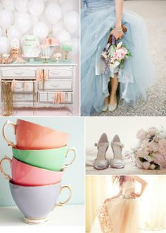 Pastel wedding inspiration!