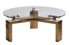 This Lazy Susan skateboard table is probably one of the coolest ideas around!