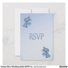 Dainty Blue Wedding