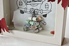 Mädchenkram: Money Gift to the Wedding {D. Craft Gifts, Diy Gifts, Best Gifts, Diy Birthday, Birthday Gifts, Diy Wedding, Wedding Gifts, Gift Baskets For Women, Birthday Gift Baskets