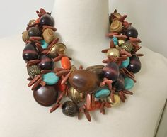 Gorgeous Monies Style Exquisite Dramatic Multi Strand Necklace #Unbranded #Bib
