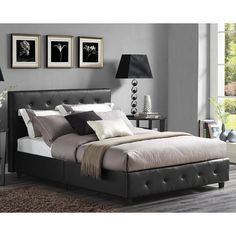 DHP Dakota Upholstered Platform Bed, Size: King   4175049