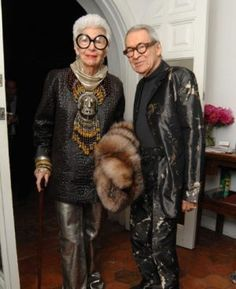 Iris Apfel.... When I am older, I want to look like this.