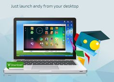 Andy is a new Android emulator which lets you experience a full blown Android OS on your PC. The software is new so bugs may be there.