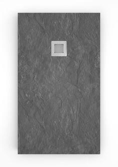 Plato de ducha Stone – Paleta de color en grises y negros