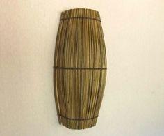 Arandela vareta fibra de coqueiro