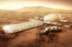 This Is What It Will Probably Look Like To Live On Mars