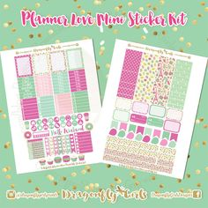 New!!! DIY May Printable Planner Stickers Mini Kits pdf 2 jpeg Erin Condren Life Planner Filofax MAMBI Color Crush Websters by DragonflyPrintables on Etsy