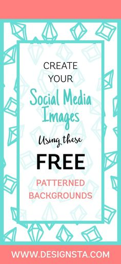 Get your free pack of patterned backgrounds, perfect for designing social media images to promote your business. Social Media Images, Social Media Graphics, Social Media Tips, Social Media Marketing, Digital Marketing, Facebook Marketing, Content Marketing, Affiliate Marketing, Wallpaper Background Design
