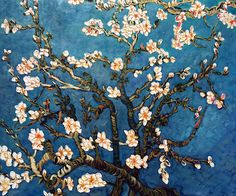 Branches of an Almond Tree in Blossom � Vincent Van Gogh
