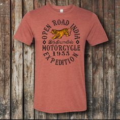 Vintage style t-shirt - India Expedition