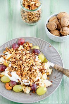 Granola Müsli selber machen Rezept via Spoon and Key Blog