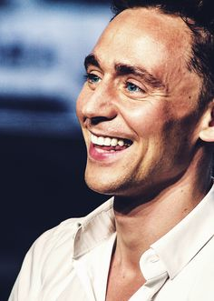 Here. Have a Hiddles smile. Legend says that they are full of magic and that when you see one, you can't help but smile too. :)