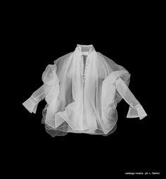 lastra raggi x camicia d'artista Gianfranco Ferrè