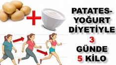 Potato Yogurt Diet that Loses 5 Pounds in 3 Days - Eat Recipes Lose 5 Pounds, Health Fitness, Lose Weight, Food And Drink, Lost, Workout, Plank, Istanbul, Crafts