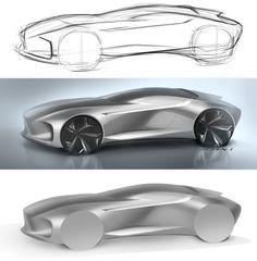 Doodle on behance more industrial design sketch, transportation design, car Car Design Sketch, Car Sketch, Design Exterior, Industrial Design Sketch, Futuristic Cars, Car Drawings, Transportation Design, Automotive Design, Concept Cars