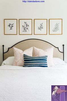 foothill drive project master guest bedrooms is part of Bedroom wall decor above bed - Foothill Drive Project Master + Guest Bedrooms artSketches Simple Bedroom Wall Decor Above Bed, Bedroom Artwork, Bed Wall, Bedroom Bed, Guest Bedrooms, Bedroom Decor, Artwork Above Bed, Bedroom Pictures Above Bed, Master Bedrooms