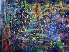 "Saatchi Art Artist Nestor Toro; Painting, ""The key particles by Nestor Toro"" #art"