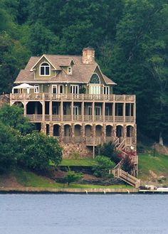 I don't think I would know what to do with a house this big