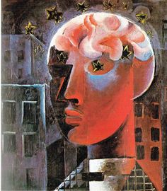Otto Dix - Testa rossa (autoritratto), 1919