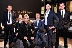Familie Diks met Mark Diks, Karel Poelmans, Rob Diks, Erik Diks, Pieter Diks en Martin Diks
