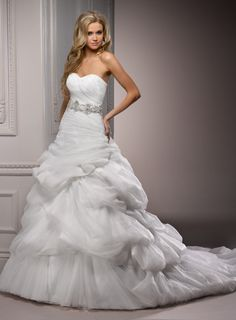 Front of Maggie Sottero!