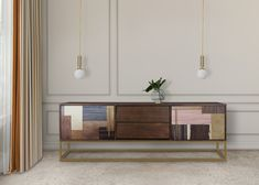 Our most wanted Leaves sideboard is such a Nature's treasure! Very rare and unique wood veneers make that piece an authentic Art piece.⠀ W 190 cm Furniture, Sideboard, American Walnut, Cabinet, Home Decor, Wood Veneer, Walnut Wood, Storage