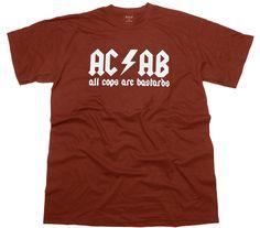 T-Shirt AC/AB All Cops Are Bastards G6 bei ultrasversand.de