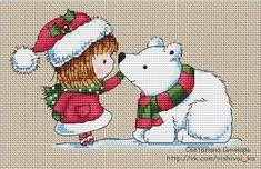 Polar Bear & Friend 1/4