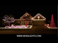 Amazing Grace Techno   Synchronized Christmas Light Show To Music   YouTube  | Ꮳɧɾiʂʈɱaʂ Lights And Sound! | Pinterest | Christmas Lights, Lights And ...