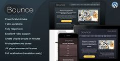 Bounce: Responsive #Business #WordPress Theme