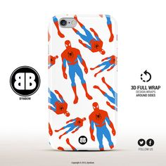 iPhone 6 Case Spiderman iPhone 6s Case Marvel Comics by BYMBOW