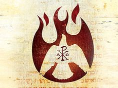 chi-rho alpha omega - REV 22:12-13 12Behold, I am coming soon, bringing my recompense with me, to repay everyone for what he has done. 13I am the Alpha and the Omega, the first and the last, the beginning and the end.