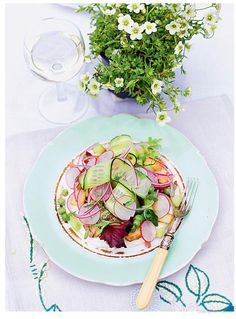 Rachel Khoo's Kitchen English garden salad