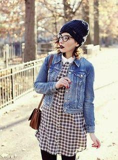 Vintage Levis Denim Trucker Jacket - Slim Fit Urban Outfitters Hipster Size S