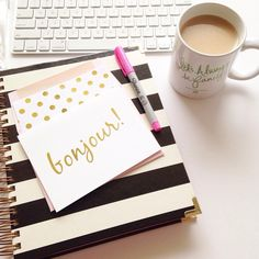 Pretty office supplies make everything better!