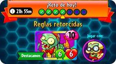 Plants vs. Zombies Heroes #87 | Reglas Retorcidas : Reto Diario | Españo...