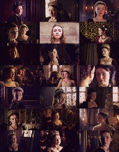 the tudors, Sarah Bolger as Princess Mary Tudor, future Mary I.