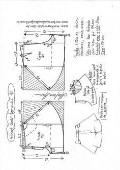 T Shirt Sewing Pattern, Sewing Shorts, Diy Shorts, Pattern Drafting, Dress Sewing Patterns, Pants Pattern, Sewing Clothes, Clothing Patterns, Diy Clothes