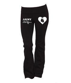 Army Wife Yoga Pants