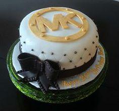 """MK """"Michael Kors"""" cake. Whisk & Whip www.whiskandwhip.com https://www.facebook.com/whiskandwhipsudbury"""
