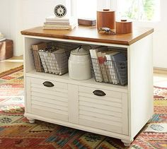 Home office organization files pottery barn ideas for 2019 Home Office Storage, Home Office Organization, Home Office Design, Organizing, Office Nook, Bedroom Office, Wood Drawers, Desk With Drawers, Home Office Furniture