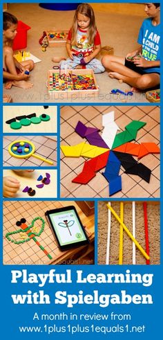 Playful Learning with #Spielgaben ~ a month in review from @1plus1plus1
