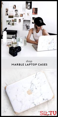Silk Leather Gold And Logo Grey Marble Macbook Case - Marble Marble Macbook Cover, Marble Laptop Case, Marble Case, Rose Gold Macbook Case, Laptop Case Macbook, Macbook Air, Macbook Accessories, Desk Accessories, Best Electronic Gifts