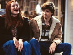 That show uploaded by Annelien Polfliet on We Heart It Steven Hyde, Series Movies, Tv Series, Donna And Eric, Wisconsin, Eric Forman, Thats 70 Show, Laura Prepon, Old Shows