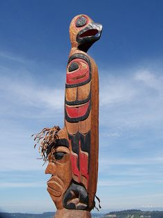 Northwest Indian Carving, I grew up seeing these around.