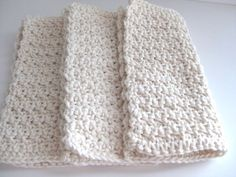 cotton crochet dish cloths